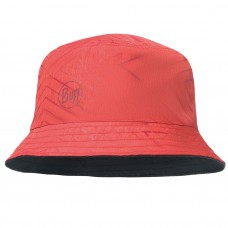BUFF® Travel Bucket Hat Сollage red / black (2019 Edition)