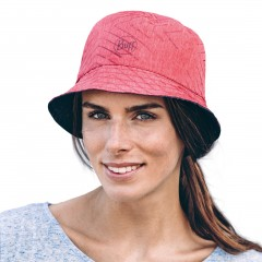BUFF® Travel Bucket Hat Сollage red / black [2019 Edition]