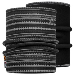 Reversible Polar Neckwarmer BUFF® Picus grey / Black