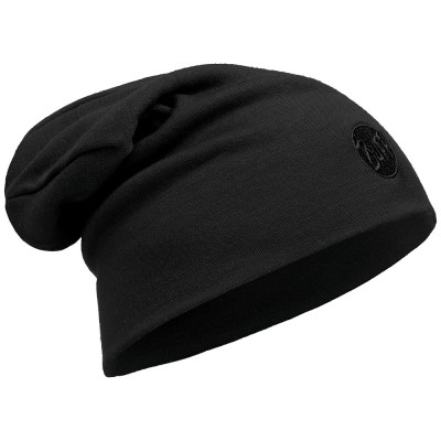 BUFF® Heavyweight Merino Wool Loose Hat Solid Black