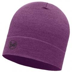 BUFF® Midweight Merino Wool Hat Purple melange