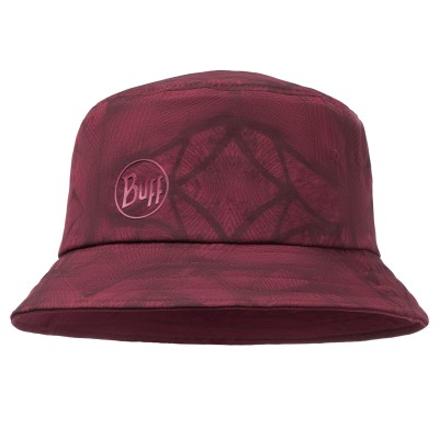 BUFF® Trek Bucket Hat Calyx dark red