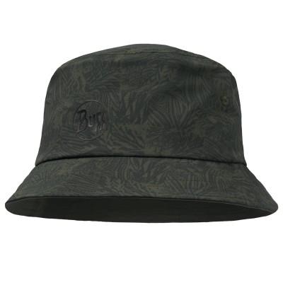 BUFF® Trek Bucket Hat Checkboard moss green