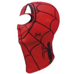 BUFF® Kids Polar Balaclava Superheroes spidermask red