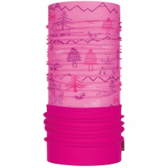 Kids Polar BUFF® woods pink