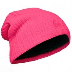 BUFF® Knitted & Polar Hat DRIP pink fluor