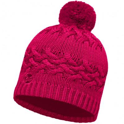 BUFF® Knitted & Polar Hat SAVVA magenta