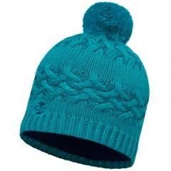 BUFF® Knitted & Polar Hat SAVVA blue capri