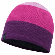 BUFF® Knitted & Polar Hat DALARNA mardi grape