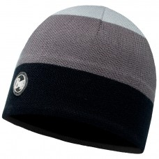 BUFF® Knitted & Polar Hat DALARNA  grey castlerock