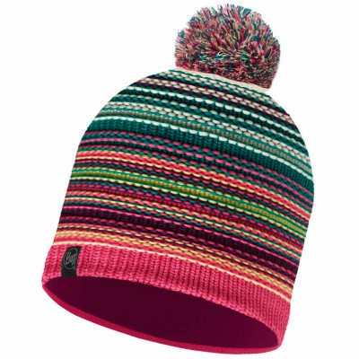 BUFF® Knitted & Polar Hat NEPER magenta