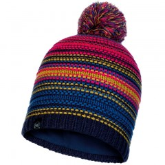 BUFF® Knitted & Polar Hat NEPER night blue