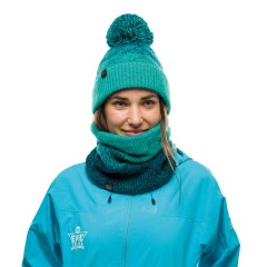 BUFF® Knitted & Polar Neckwarmer MASHA turquoise