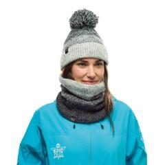 BUFF® Knitted & Polar Neckwarmer MASHA grey