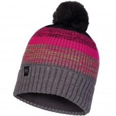BUFF® Knitted & Polar Hat ALYONA melange grey