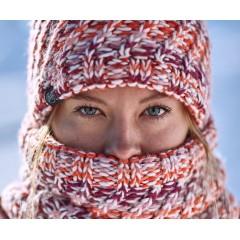 BUFF® Knitted & Polar Neckwarmer VALYA cru