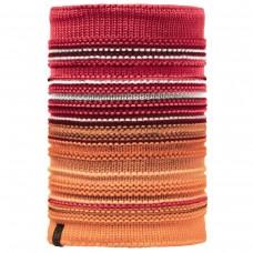 BUFF® Knitted & Polar Neckwarmer NEPER red samba