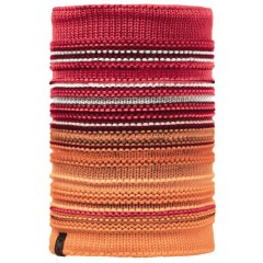 BUFF® Knitted & Polar Neckwarmer NEPER red samba