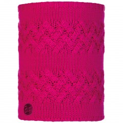 BUFF® Knitted & Polar Neckwarmer SAVVA magenta