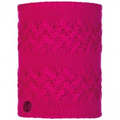 BUFF® Knitted & Polar Neckwarmer SAVVA magenta