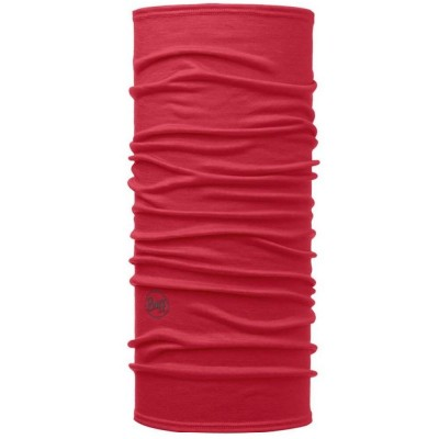BUFF® Lightweight Merino Wool solid red scarlet