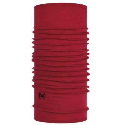 BUFF® Midweight Merino Wool solid red
