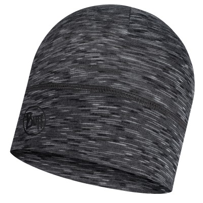 BUFF® Lightweight Merino Wool Hat graphite multi stripes