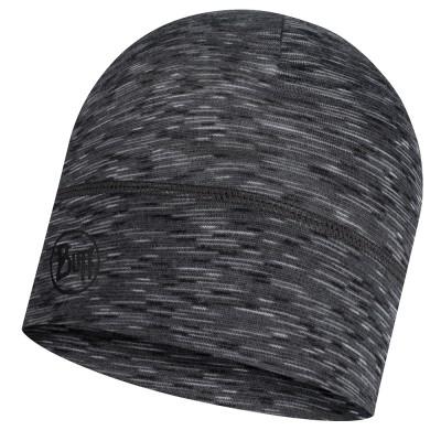 BUFF® Lightweight Merino Wool Hat graphite multi stripes