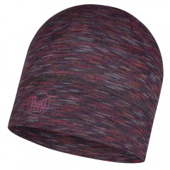 BUFF® Lightweight Merino Wool Hat shale grey multi stripes