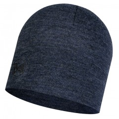 BUFF® Midweight Merino Wool Hat night blue melange