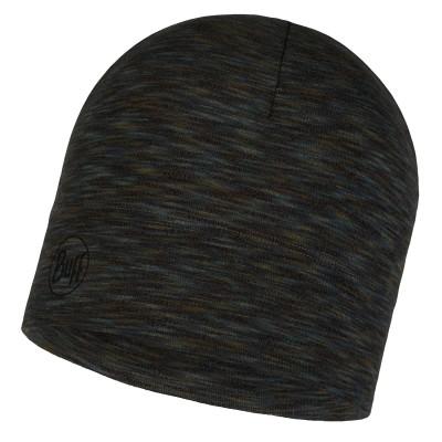 BUFF® Midweight Merino Wool Hat fossil multi stripes