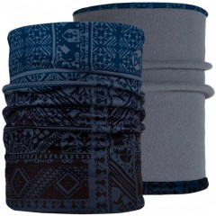 Reversible Polar Neckwarmer BUFF® eskor perfuse blue