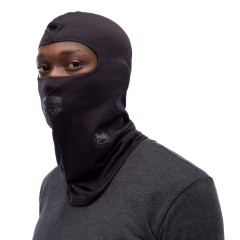 BUFF® Lightweight Merino Wool Balaclava solid black