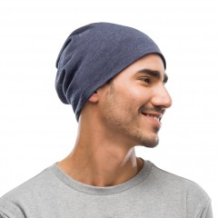 BUFF® Midweight Merino Wool night blue melange