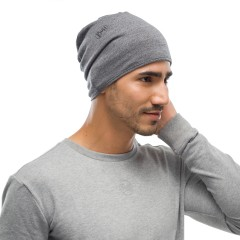 BUFF® Midweight Merino Wool Light grey melange