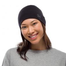 BUFF® Midweight Merino Wool Hat Solid black