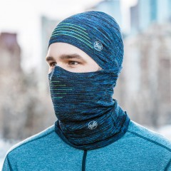 BUFF® DryFLX⁺ Neckwarmer black