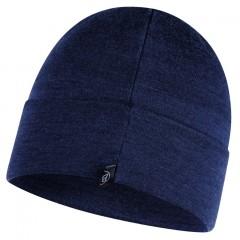 BUFF® Heavyweight Merino Wool Loose Hat solid denim