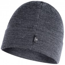 BUFF® Heavyweight Merino Wool Loose Hat solid grey
