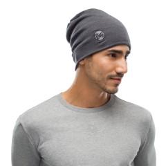 BUFF® Heavyweight Merino Wool Loose Hat solid grey