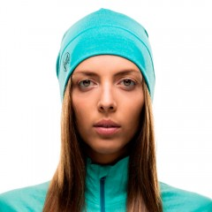 BUFF® Midweight Merino Wool Hat solid turquoise