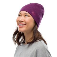BUFF® Midweight Merino Wool Hat purplish melange