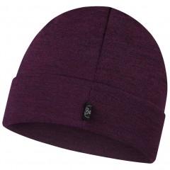 BUFF® Heavyweight Merino Wool Loose Hat purplish multi stripes