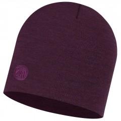 BUFF® Heavyweight Merino Wool Hat purplish multi stripes