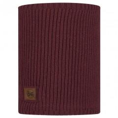 BUFF® Knitted & Polar Neckwarmer RUTGER maroon