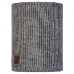 BUFF® Knitted & Polar Neckwarmer RUTGER melange grey