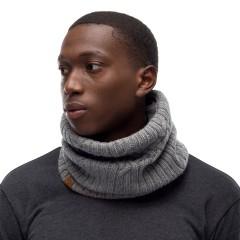 BUFF® Knitted & Polar Neckwarmer N-HELLE castlerock grey