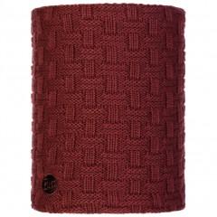 BUFF® Knitted & Polar Neckwarmer AIRON maroon