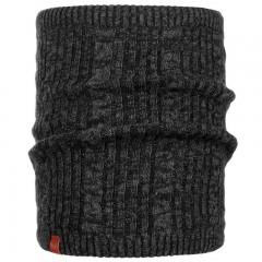 BUFF® Knitted & Polar Neckwarmer COMFORT BRAIDY black