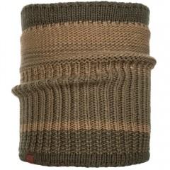 BUFF® Knitted & Polar Neckwarmer COMFORT BORAE khaki